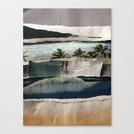 NOSE RIDING Canvas Print