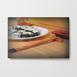 Hungry Metal Print