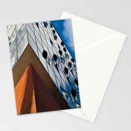 MUSIC SOUND touches the HAMBURG Sky Stationery Cards