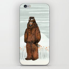 Wilder Mann - The Bear iPhone Skin