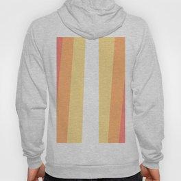 70s Retro Hippie Stripes Palette Hoody