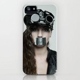 Don't Talk iPhone Case