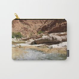 Wadi Shab Tiwi Oman Carry-All Pouch
