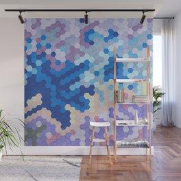 Nebula Hex Wall Mural