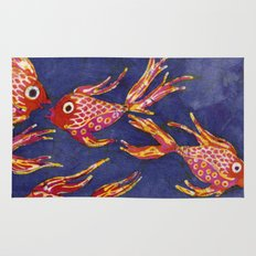 Goldfish batik Rug
