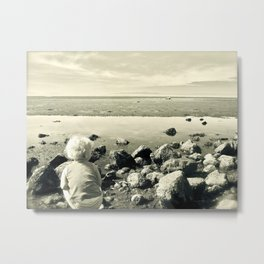 A World of Discovery Metal Print
