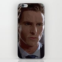patrick iPhone & iPod Skins featuring Patrick Bateman by asvf