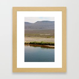 Alvord Framed Art Print