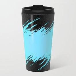 Frozen Flash on Concrete Travel Mug