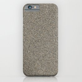 Wet Sand iPhone Case