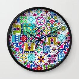 Moroccan Mosaic I Wall Clock