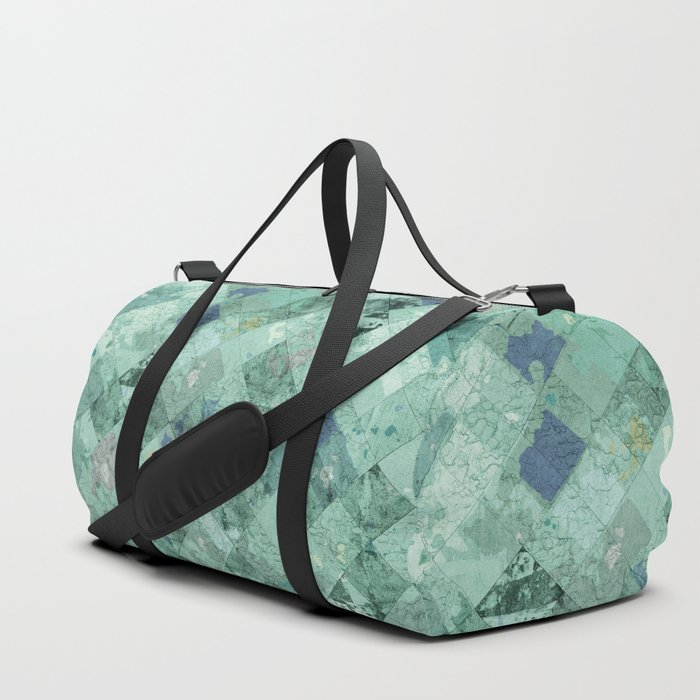 Abstract Geometric Background 31 Duffle Bag