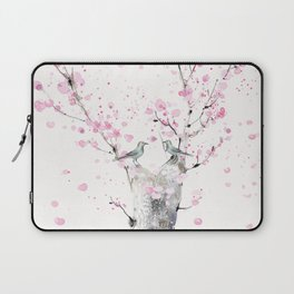 Cherry Blossoms And Birds Laptop Sleeve