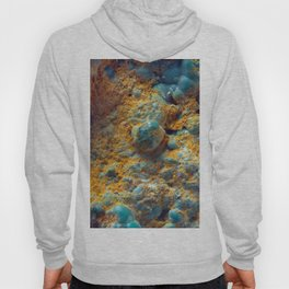 Bubbly Turquoise with Rusty Dust Hoody