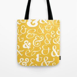 We Are Ampersands Tote Bag