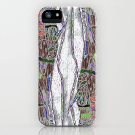 Weaving the Thread: Strands of Life iPhone Case