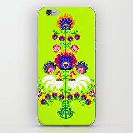 Polish folk iPhone Skin