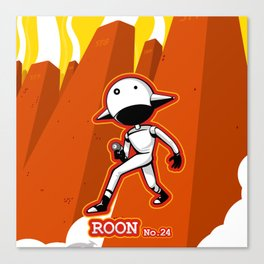 ROON No.24 Canvas Print