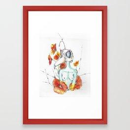 In the Gardnen Framed Art Print