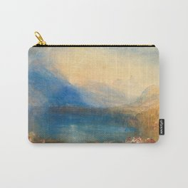 """J.M.W. Turner """"The Lake of Zug"""" Carry-All Pouch"""