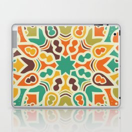 Sun mandala pattern Laptop & iPad Skin