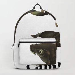 Cambodia travel poster Backpack