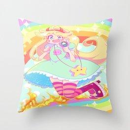 Star Butterfly Throw Pillow