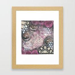 Pink Parade Framed Art Print