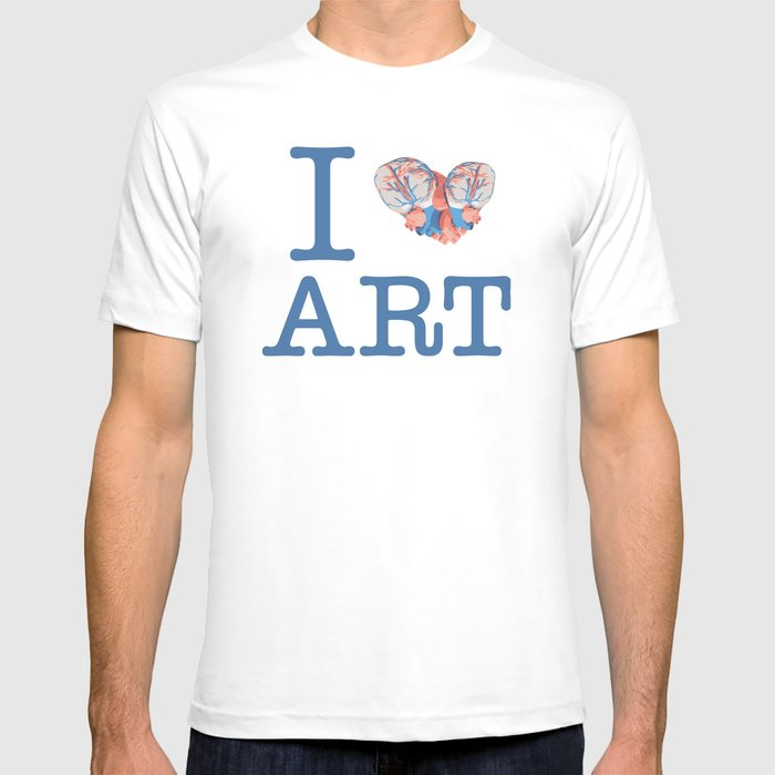 I Heart Art T-shirt