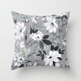 Flowers -a55 Throw Pillow