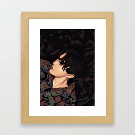bts jhope fake love fanart Framed Art Print
