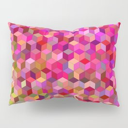 Girly cube structure Pillow Sham