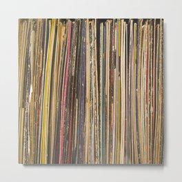 Records Metal Print