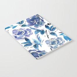 Royal Blue Garden 02 Notebook