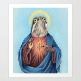 Potoo Jesus Kunstdrucke