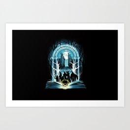 Magic Ring Art Print