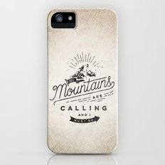 Mountains iPhone (5, 5s) Slim Case