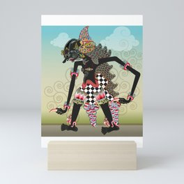 Wayang or shadow puppets Mini Art Print