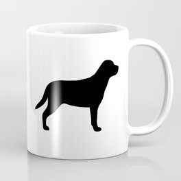 Greater Swiss Mountain Dog Silhouette Coffee Mug