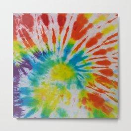 Tye Dye for Mom Metal Print