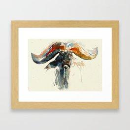 Yak! Framed Art Print