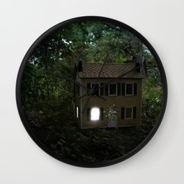 I'll Leave a Light On For You Wall Clock