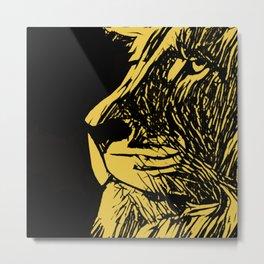 King of Savana Metal Print