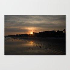 Sunset on Fripp Island Canvas Print