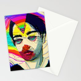 Night Sketch 1 Stationery Cards