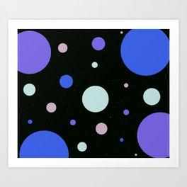 SPACE BALLS Art Print
