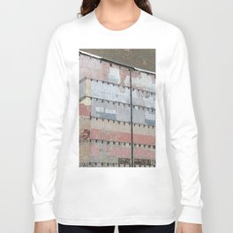 Architectural Detail Wall, Salvage, Old building, Chicago Long Sleeve T-shirt