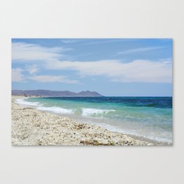 """Blue beach. Summer dreams"" Canvas Print"