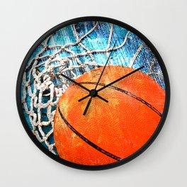 Basketball art variant 1 Wall Clock