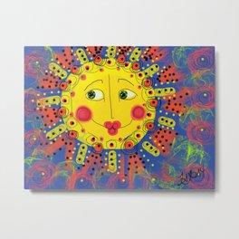 Crazy 'bout Suns Metal Print